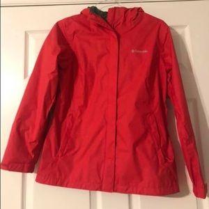 Columbia Arcadia II packable rain jacket- Like New